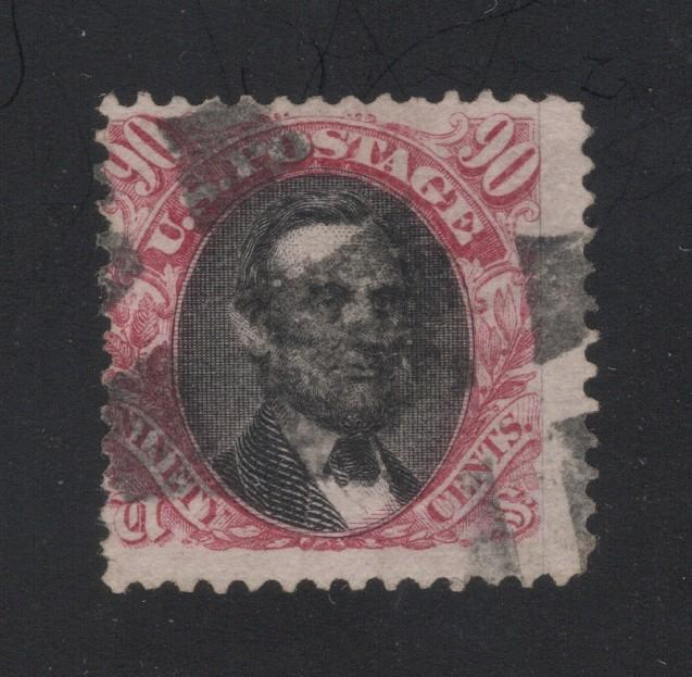 US#122 Carmine & Black - Cork Cancel