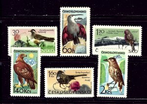 Czechoslovakia 1339-44 MLH 1965 Birds