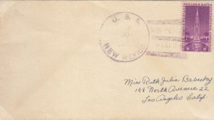 1940, USS New Mexico, BB-40 to Los Angeles, CA (N6700)