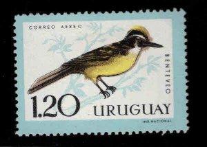 Uruguay Scott C250  MH* Bird stamp