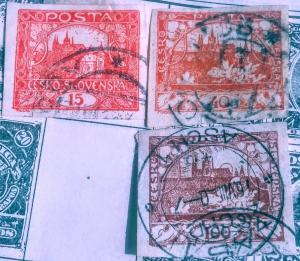 Checkoslovakia used collection