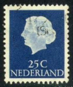 Netherlands #348 Queen Juliana; used (0.25)