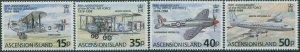 Ascension 1998 SG742-745 Royal Air Force set MNH