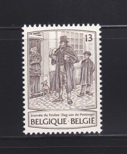Belgium 1286 Set MNH Stamp Day
