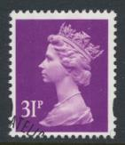 Great Britain SG Y1695 Sc# MH224    Used with first day cancel - Machin 31p