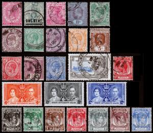 Straits Settlements Scott 41 // 245 (1883-1938) Used/Mint H F-VF, CV $13.35 B
