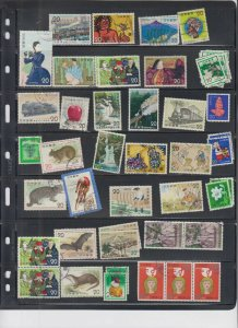 JAPAN 5 STOCK PAGES COLLECTION LOT #2 UNPICKED UNCHECKED HIDDEN VALUE $$$$$$$