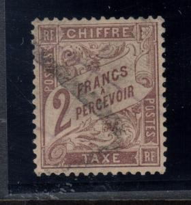 France #J27 Very Fine Used