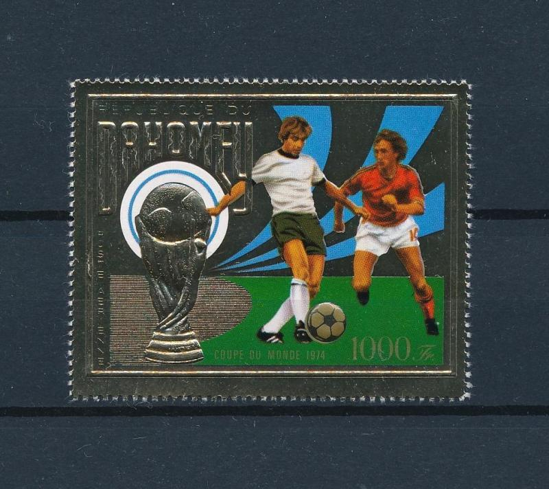 [60806] Benin Dahomey 1974 World Cup Soccer Football Germany MNH
