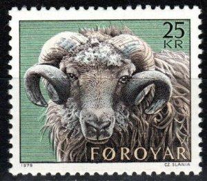 Faroe Islands #42 MNH CV $6.00 (X7929)