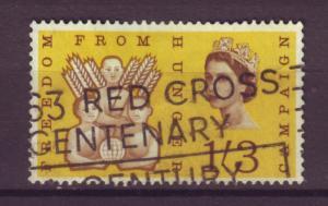 J8533 JL stamps 1963 great britain used 391