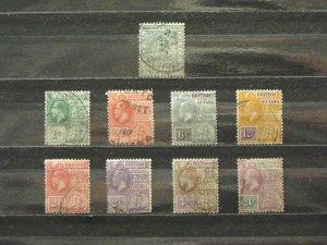 5633   Br Guiana   Used # 160, 178, 179, 182, 183, 192, 193, 194, 197  CV$ 12.90