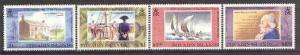 Pitcairn Islands 1992 William Bligh Death Anniversary set...