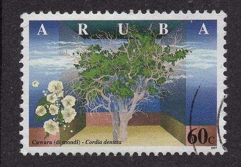 Aruba   #155   used  1997  wild flowers 60c