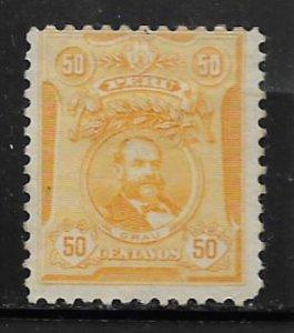PERU 184 HINGED GRAU