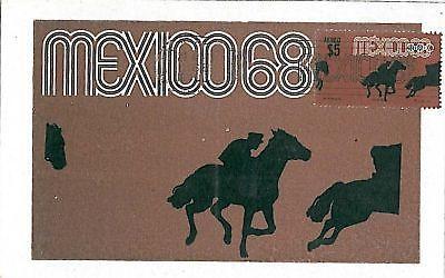 SPORT - OLYMPICS :  MEXICO 1968 - MAXIMUM CARD