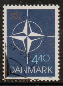 DENMARK SG881 1989 N.A.T.O. F/USED