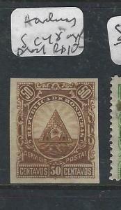HONDURAS  (P0206B)   50C  SC 48 IMPERF PROOF  MNG