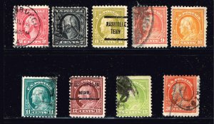 US STAMP 20TH USED STAMPS COLLECTION LOT #2