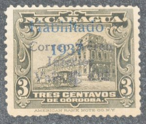 DYNAMITE Stamps: Nicaragua Scott #C176 – USED