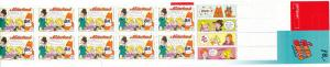 Netherlands 1015a Complete Booklet MNH Comic Strips