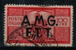 Trieste Zone A Scott 14 Used (Catalog Value $35.00)
