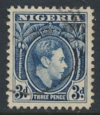 Nigeria  SG 53  SC# 58  Used  1938 Definitive please see scan