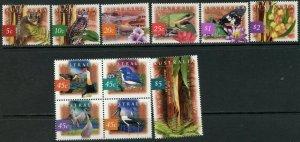 AUSTRALIA Sc#1524-1534 1996-1997 5c-$5 Flora & Fauna OG Mint NH