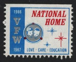 UNITED STATES 1966 1967 VFW CINDERELLA - BARNEYS