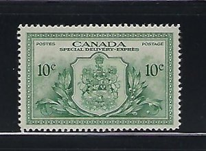 CANADA SCOTT #E11 1946  SPECIAL DELIVERY 10 CENTS - MINT LIGHT HINGED
