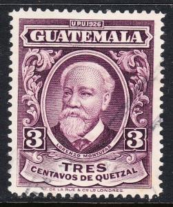 Guatemala 236 - FVF used
