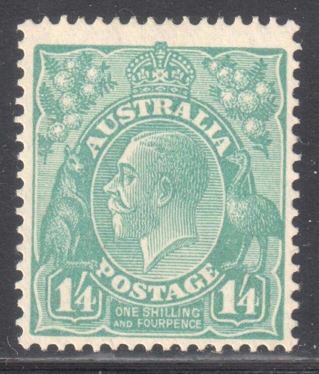 Australia #76 MINT LH C$200.00