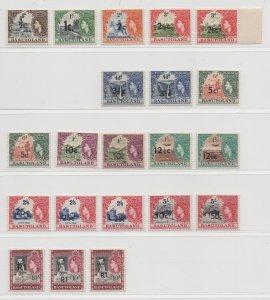 Basutoland - 1961 - Sc# 61-71 - SG58-68 - MNH