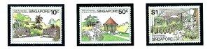 Singapore 333-35 MNH 1979 Botanic Gardens Anniversary