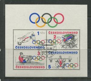 Czechoslovakia #2530a  CTO Scott CV. $4.00?