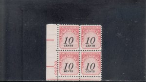 UNITED STATES J97 PB MNH 2019 SCOTT SPECIALIZED CATALOGUE VALUE $1.10