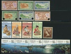 TOKELAU Islands Postage Stamp Collection Mint NH OG