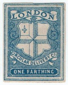 (I.B) Cinderella Collection : Circular Delivery Company (London ¼d)