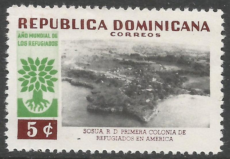 DOMINICAN REPUBLIC 522 VFU Q152-2