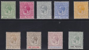 Bahamas SC 49-56 Mint 1921-1934 SCV$ 322.00 Set