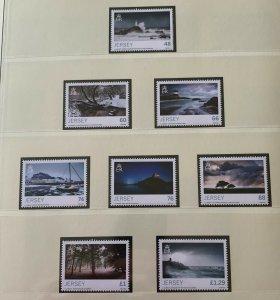 JE18) Jersey 2016 Winter Season set of 8 MUH
