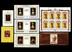 Russia – Mint Souvenir Sheets 1975-1992 (Art)