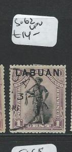 LABUAN (P2101B) 1C MAN SG 62  VFU