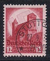 Germ. Sc # 443 Nuremberg Castle Used L4