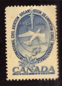 Canada Scott 354 Used stamp 1955