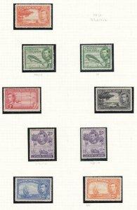 CAYMAN ISLANDS #s 100-101-101a,102-104,104a,105-106,106a,108-110 VF-MNH/MLH $77