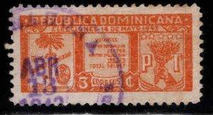 Dominican Republic Scott 393 Used  stamp