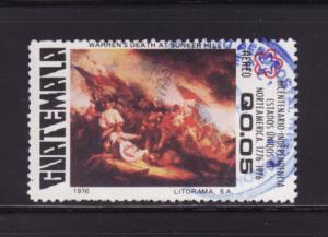 Guatemala C596 U American Bicentennial (A)