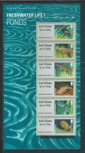 Great Britain Post and Go s.g. FS59 Freshwater Life #1 Sp...