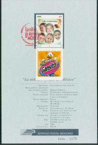 MEXICO 2532 FD Tech Brochure. Children, the future of Mexico